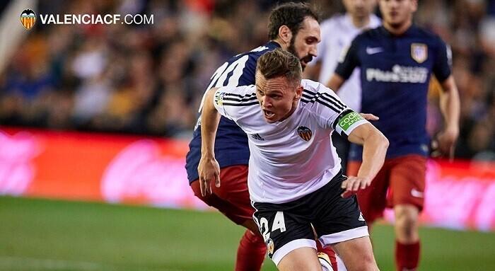 Con el 1-1 se llegó al descanso de una primera mitad muy táctica y muy física. (Foto-Lázaro de la Peña).