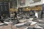 Dos explosiones se registraron en el aeropuerto de Bruselas.