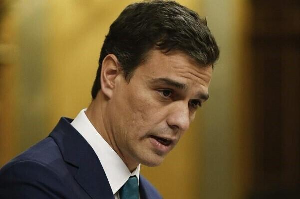 Duro revés del congreso para investir a Pedro Sánchez como presidente.