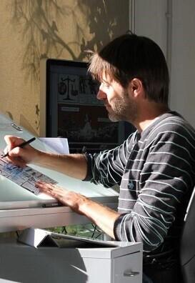 El dibujante Paco Roca.