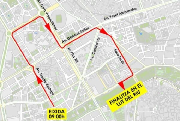 El domingo se celebra la III carrera José Antonio Redolat.