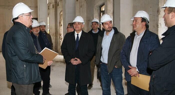 El edificio, de cinco plantas, va a integrar algunos elementos de la construcción original.
