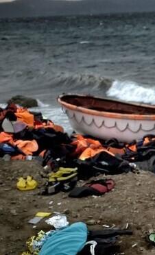 El número de migrantes que arribaba a las islas griegas había descendido drásticamente en la última semana.