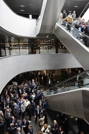 El público acude muy interesado a Forinvest.