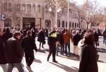 El simulacro de evacuación en el edificio de Tabacalera se realizó con todo éxito.