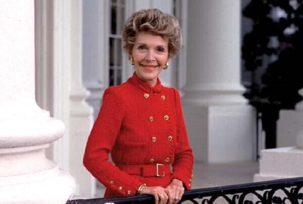 Falleció Nancy Reagan, ex primera dama de los Estados Unidos.