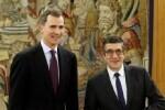 Felipe VI se reúne hoy con el presidente del Congreso.