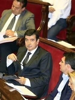 Fernando Giner, portavoz de Ciudadanos. (Foto-Manuel Molines).