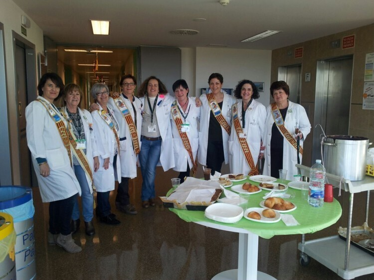 Foto Fallas Voluntarios AECC Hospital La Fe