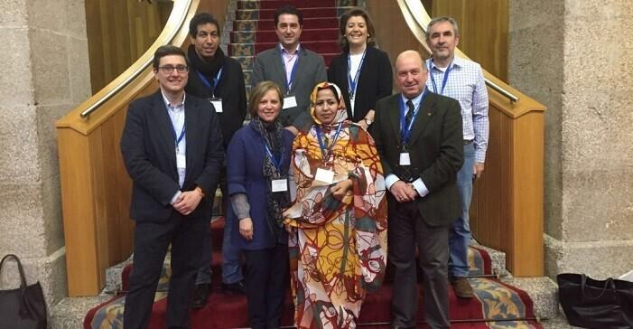 Garcia Latorre en XX Conferència dels Intergrups Parlamentaris.