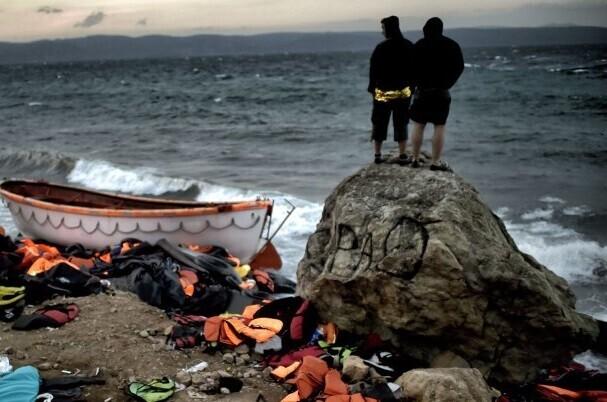 Grecia registra su primer día sin arribo de migrantes a sus costas.