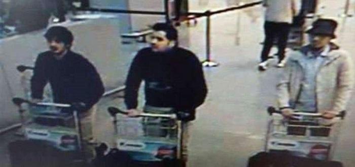 Imagen de los terroristas autores del atentado.