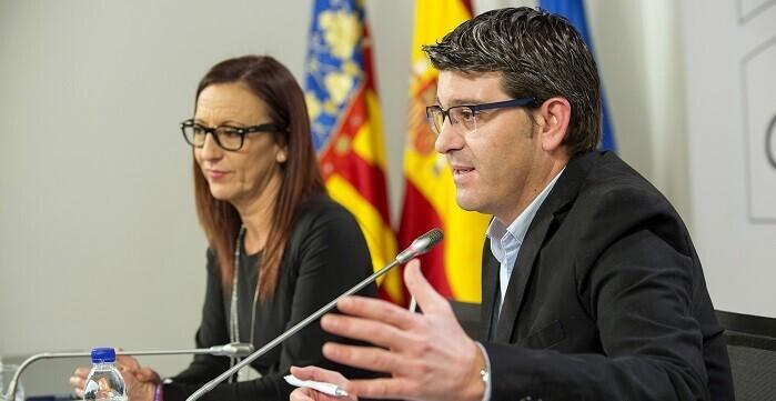 Jorge Rodríguez  y Mª Josep Amigó (Foto-Abulaila).