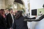 La Diputación inaugura sus muestras itinerantes contra la violencia de género (Foto-Abulaila).
