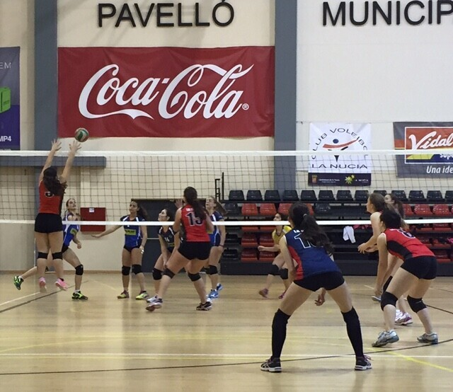 La Nucia Voley Cadet vs SJoan feb 2016