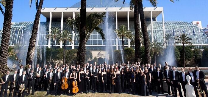 La Orquesta de Valencia en el Palau.