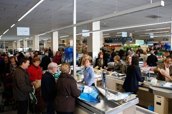 La cadena de supermercados ALDI abre tienda en Valencia.