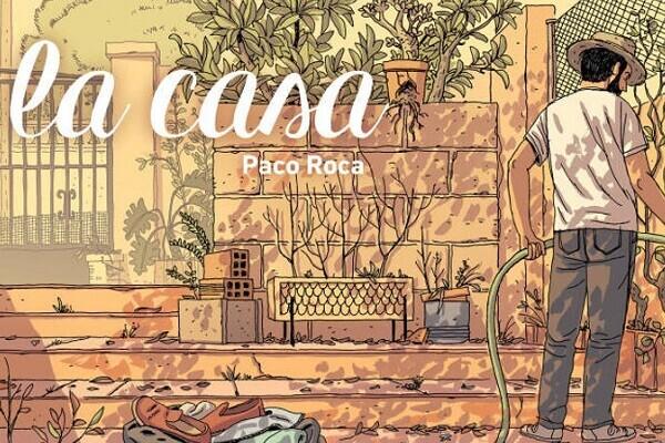'La casa', del valenciano Paco Roca, Mejor Cómic Nacional de 2015.