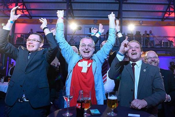 La derecha radical gana fuerza en las elecciones locales alemanas y castiga a Angela Merkel.