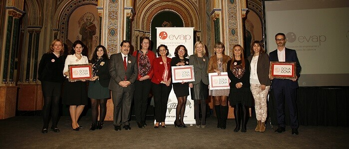 La entrega de los reconocimientos DONAiDONA se celebró en el Centro Cultural la Beneficencia de Valencia.