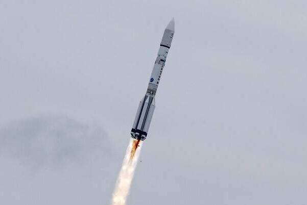 La misión ExoMars partió con éxito rumbo al planeta rojo.