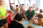 Ludotecas intergeneracionales para que los mayores realicen actividades con sus nietos y nietas en Pascua.
