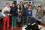 Mónica Oltra y el equipo de gobierno de Cheste visitan los centros del IVAS.