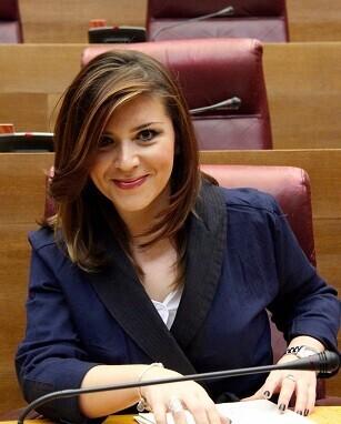 Mari Carmen Sánchez, portavoz adjunta de Ciudadanos en Les Corts.