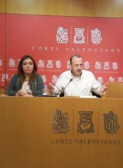 Mari Carmen Sánchez y Alexis Marí.