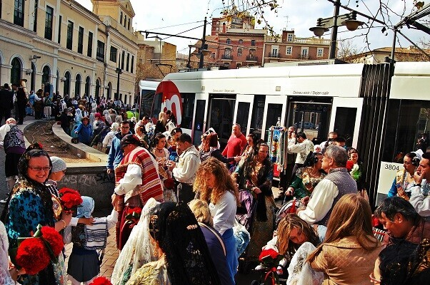 Metrovalencia ha transportado 2.471.892 viajeros en los servicios ofrecidos en Fallas.