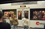 Metrovalencia ofrece el sábado servicio nocturno hasta las dos de la madrugada.