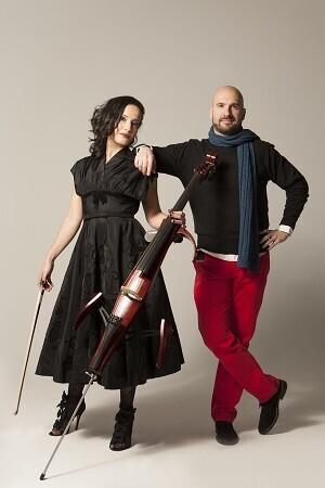 Nesrine Belmok y Josué Vergara. (Foto-Carlos Gutierrez).