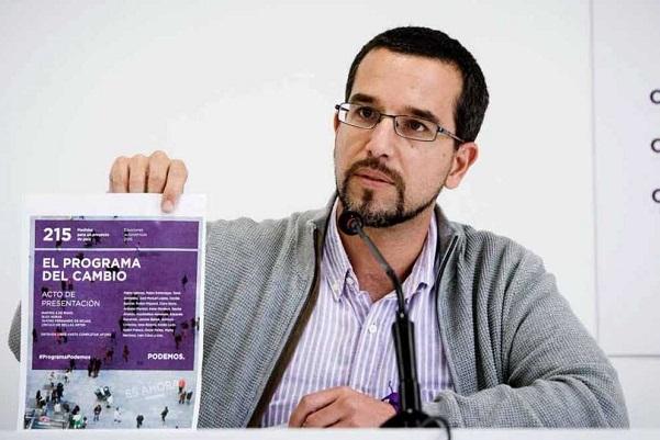 Pablo Iglesias cesa a su secretario de Organización, Sergio Pascual.