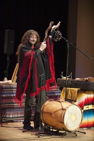 Pablo Nahual es un músico argentino,  Folclorista andino, con más de 30 años de experiencia en los escenarios.