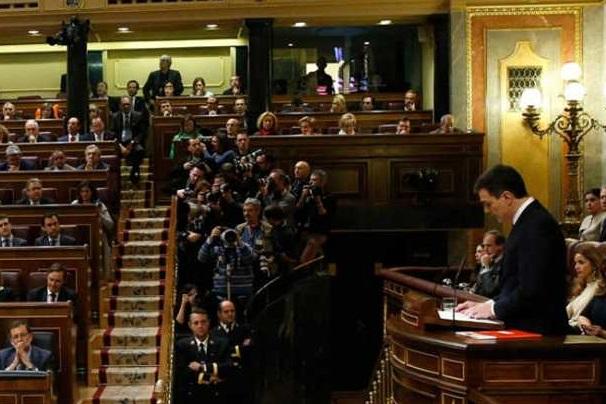 Pedro Sánchez apela al acuerdo, el cambio y el diálogo para su investidura.