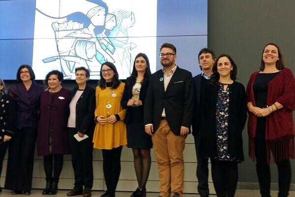 Pilar Dolz y Virginia Molina fueron galardonadas con los Premios Isabel Ferrer.