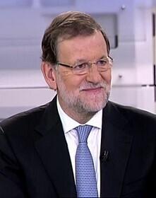 Rajoy durante su entrevista en Telecinco.