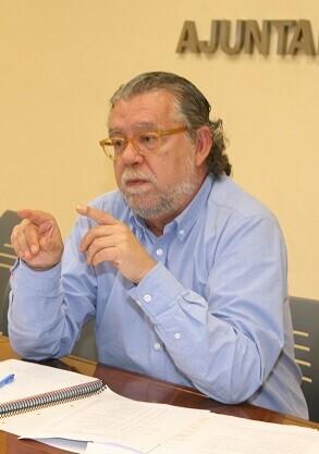 Ramón Vilar, concejal de Hacienda.
