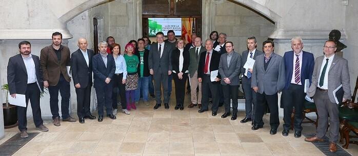 Reunión del Consell para el anteproyecto de la Ley por la Función Social de la Vivienda.