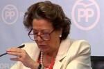 Rita Barberá acepta declarar ante el juez por el supuesto blanqueo en el PP de Valencia.