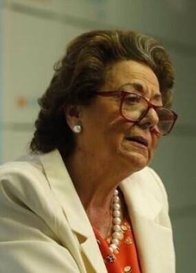 Rita Barberá, actual senadora del PP y exalcaldesa de Valencia.