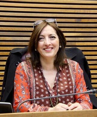 Rosa García, diputada en Les Corts por Ciudadanos.