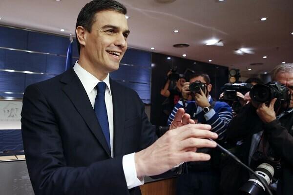 Sánchez afirma que no descarta formar un Gobierno en coalición con Pablo Iglesias