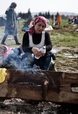 Sólo en los primeros dos meses de este año, 122.000 refugiados e inmigrantes han entrado en Grecia.