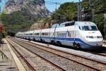 Tren de la sèrie 101 realitzant un euromed Alacant Terminal - Barcelona Sants. 18/06/2009