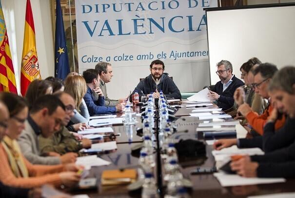 Un total de 17 mancomunidades reciben el apoyo de la Diputación para implantar la Ley de Transparencia. (Foto-Abulaila).