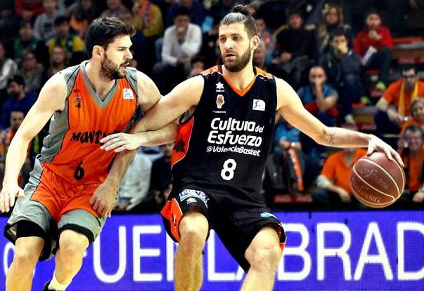 Valencia Basket logra un importante victoria frente al  Montakit Fuenlabrada.