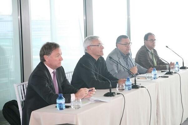 Vicent Llorens presenta sus proyectos estratégicos para la Marina.