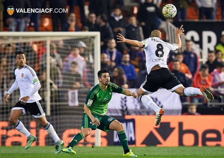 2016-03-20. Mestalla Stadium, Valencia, Spain. La Liga. Valencia versus Celta de Vigo.