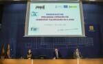 El President de la Generalitat, Ximo Puig, presenta el Programa Operativo Fondo Social Europeo. 07/03/2016.. Foto: J.A.Calahorro.